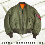 Alpha MA1 Flight Jacket THUMBNAIL
