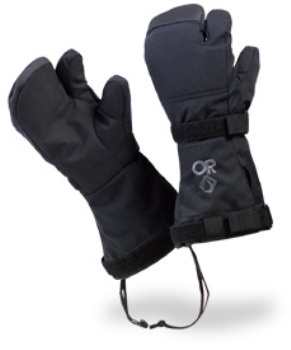 OR Outdoor Research Mutant Modular Mitts with Trigger Finger NEW