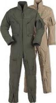 USAF USGI Issue Nomex Flight Suits CWU 27/P OD & Tan