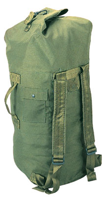 GI Issue MilitaryTop Loading Dufel Bag