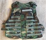 Interceptor OTV IBA BDU Woodland Plate Carriers Includes Custom Padded Inserts NO Kevlar THUMBNAIL