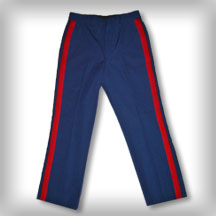 USMC Marine Corp Dress Blue Uniform NCO Trouser