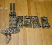 USGI MultiCam Pistolman's Pocket Set MOLLE