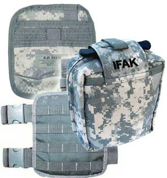 S.O.Tech SOF Individual Medic Aid Pouch Complete Kit
