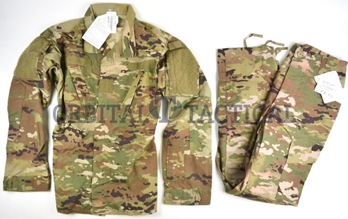 Genuine Issue Fire Resistant Insect Guard MutliCam Uniforms