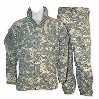 CLOSEOUT! ECWCS Generation III ACU Level 5 Soft Shell Cold Weather Jacket & Trousers LARGE