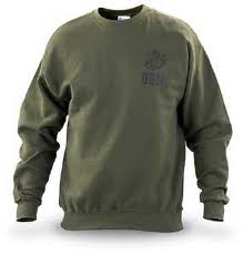 USMC ISSUE Olive Drab PT Sweatshirt
