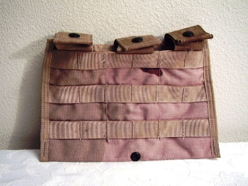 M/A 5.56 Triple Magazine Pocket 30 Round Direct Action Desert MOLLE LARGE