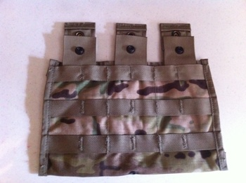 MultiCam Side X Triple Mag 30 Round  MOLLE Ammo Pouch_LARGE