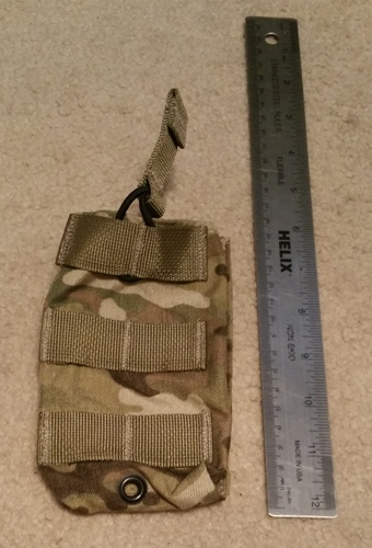 London Bridge MultiCam Single 5.56 M4 Speed Draw Pouch