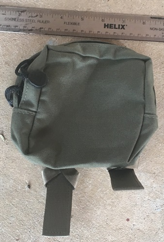 Pre MSA Paraclete Small General Purpose Utility Pouch_MAIN