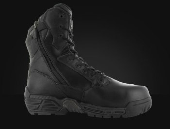 "Magnum Stealth Force 8"" Police Boot Side Zip"