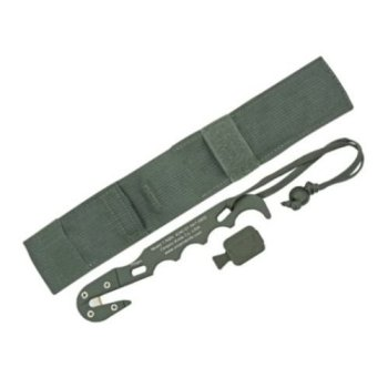 Ontario Knife ASEK Aircrew Survival Egress Strap Cutter & Sheath ACU