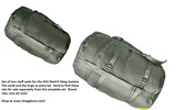 USGI Compression Sack set for the ACU USGI Mod III Sleep System
