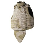 Interceptor OTV IBA DCU Tri-Color Desert Plate Carrier w KEVLAR Plates & Accessories