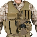 Blackhawk Omega Elite Vest Cross Draw/Pistol Mag