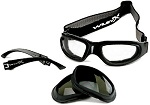 Wiley X SG-1 Sunglasses Goggle Kit