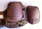 USGI McGuire-Nicholas MultiCam Knee & Elbow Pad Set