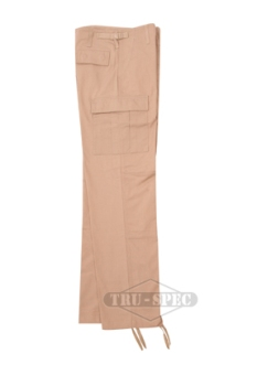 Law Enforcement Police Tan BDU Uniform Trousers