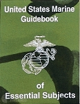 USMC Guidebook of Essential Subjects US Military Issue THUMBNAIL