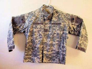 ACU Digital Camo Army Uniform Jacket Used