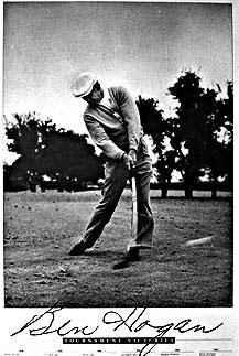 Hogan At Impact Golf Art Com Online Store