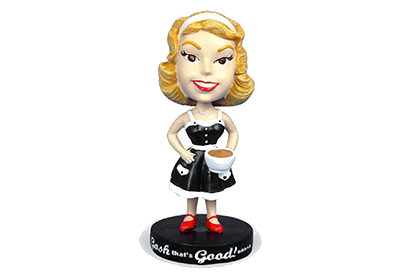 Bobblehead Betty Barista! MAIN