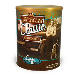 Vintage Sugar Free Rich Classic Chocolate - 2 lb. Can_MAIN