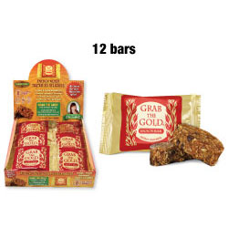 Grab The Gold® - 12 Gluten Free Snack Bars