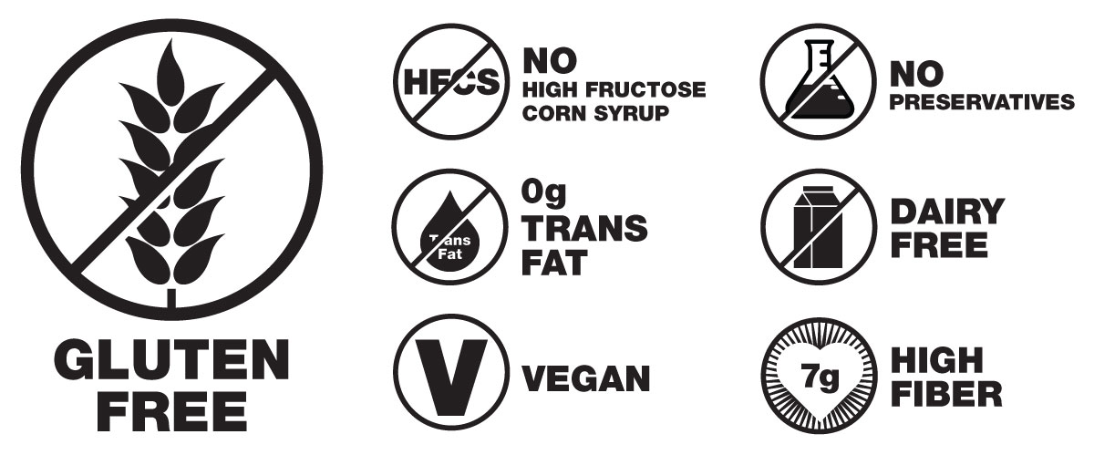 Grab The Gold® Nutrition Symbols