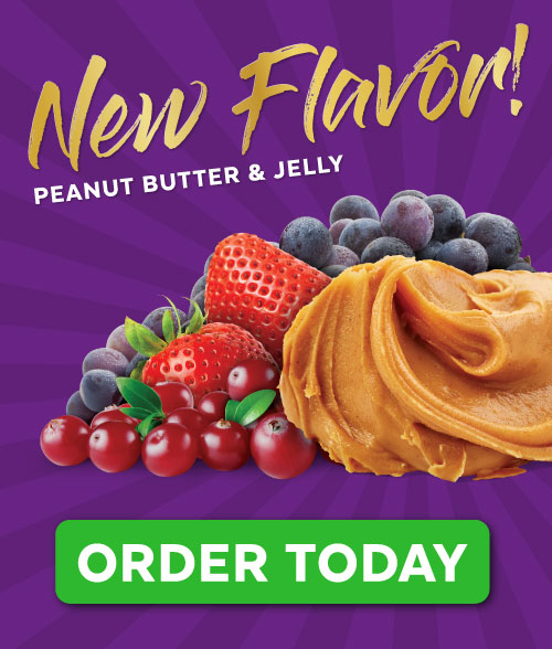 Grab The Gold Peanut Butter & Jelly Preorder Ad