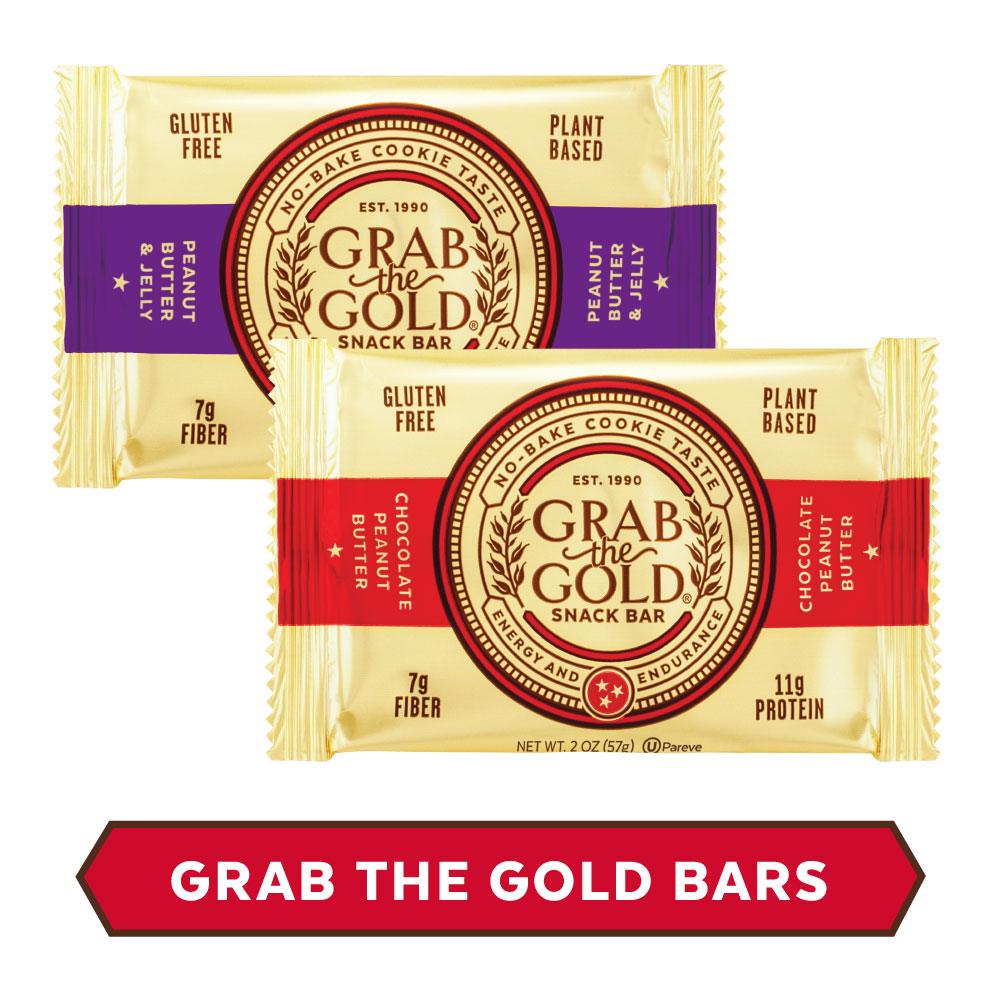 Grab The Gold Snack Bars