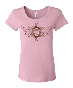 Grab The Gold® Logo Ladies T-Shirt