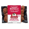 Aidell's Chicken & Mozzarella Meatballs, 12oz. THUMBNAIL