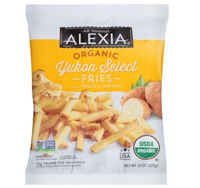 Alexia Organic Yukon Select Fries, 15oz. LARGE