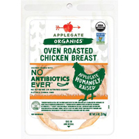 Applegate Organic Oven Roasted Chicken Breast, 6 oz. LARGE