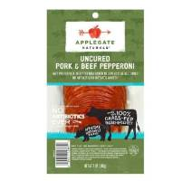 Applegate Uncured Pork & Beef Pepperoni, 5 oz. LARGE