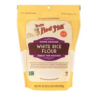 Bob's Organic White Rice Flour, 24oz. MAIN