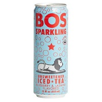 Bos Sparkling Iced Tea - Blueberry & Jasmine, 12oz. THUMBNAIL