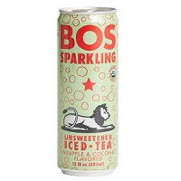 Bos Sparkling Iced Tea - Pineapple & Coconut, 12oz. THUMBNAIL