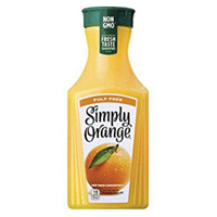 Simply Orange Juice, 52oz. LARGE