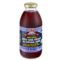 Bragg Organic Apple Cider Vinegar Drink - Concord Grape & Acai, 16 oz. THUMBNAIL