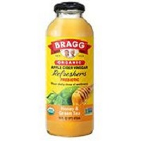 Bragg Organic Apple Cider Vinegar Refresher - Honey & Green Tea, 16 oz. THUMBNAIL
