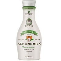 Califia Farms Unsweetened Almond Milk, 48oz. LARGE