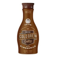 Califia Mocha Cold Brew Coffee w/Almondmilk, 48oz THUMBNAIL