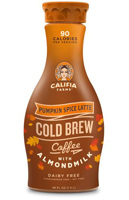 Califia Pumpkin Spice Latte Cold Brew Coffee w/Almondmilk, 48oz THUMBNAIL