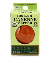 ORGANIC CAYENNE PEPPER, 0.45oz. MAIN