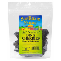 Sunridge Dried Bing Cherries, 6oz. LARGE