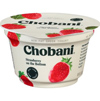 Chobani Strawberry Greek Yogurt, 5.3oz. THUMBNAIL