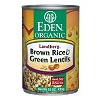 Eden Organic Brown Rice & Green Lentils, 15oz. THUMBNAIL
